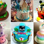 Trending cake ideas for your little one's big day